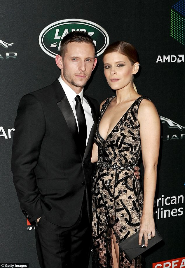 Newlyweds: The Fantastic Four co-stars dated in late 2015, and announced their marriage in July this year