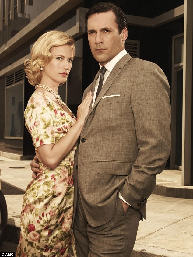 What a Betty! The actress made her mark in Mad Men as picture perfect wife Betty Draper (last Francis) alongside Jon Hamm, Christina Hendricks, Kiernan Shipka and many more