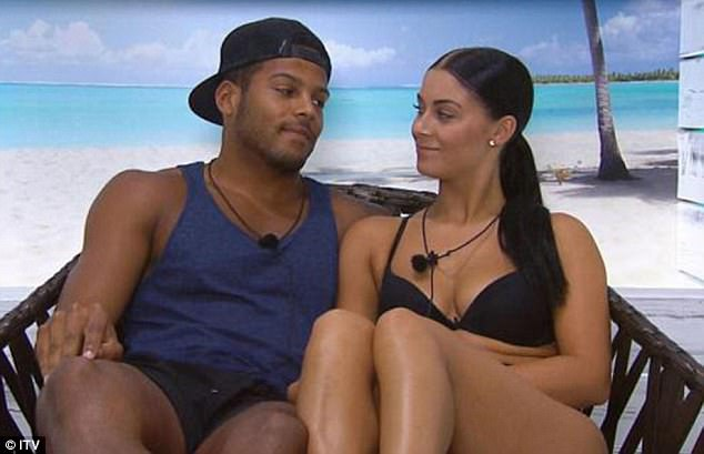 Where it all began: Cally was reunited with former flame Luis on Love Island's first rebooted season in 2015 and the pair instantly became a couple once more
