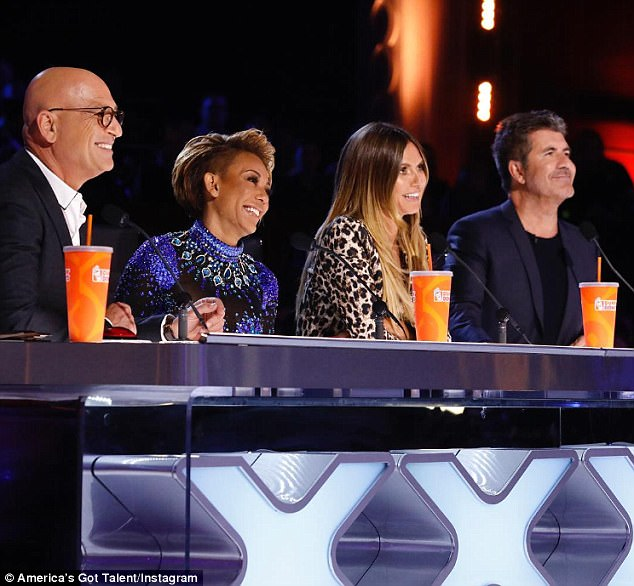 Quarterfinals next! The Emmy winner also judges the 12th season of America's Got Talent - airing Tuesdays and Wednesdays on NBC