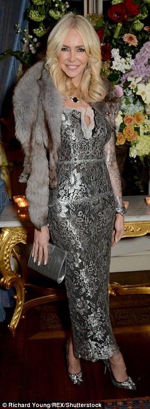 Stylish: Amanda Cronin dressed to impress