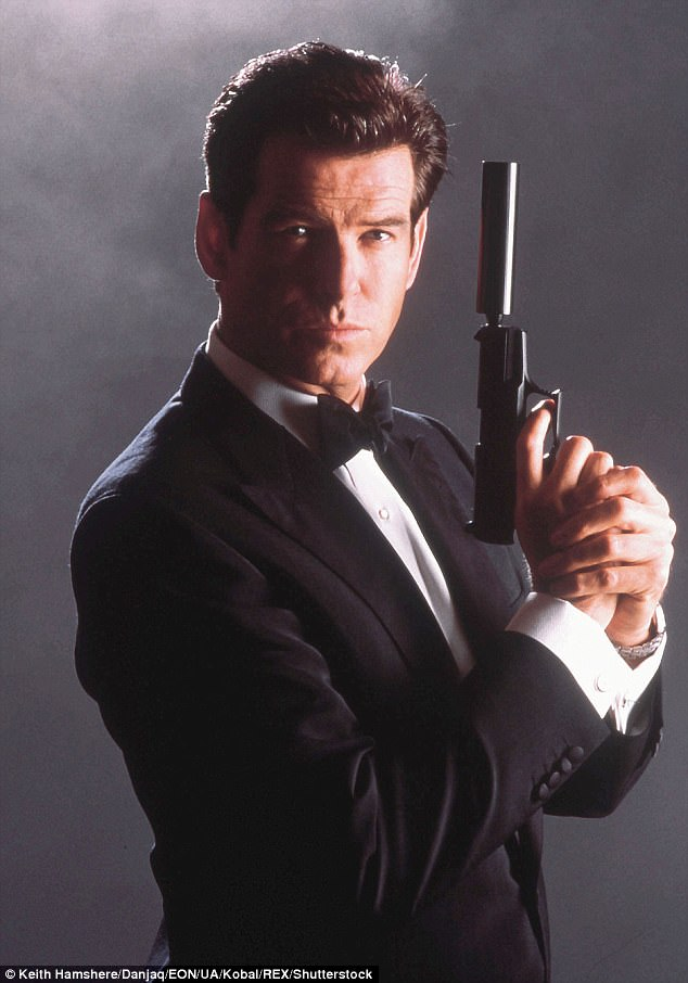 Licensed to kill: Brosnan played 007 James Bond in four films between 1995 and 2002