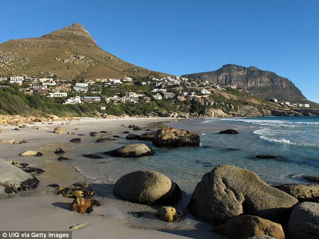 In his fantasy 24 hours Mark would like towatch the sunset at Llandudno beach, Cape Town