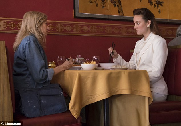 Bad reviews: And Brie (born Brianne Desaulniers) portrays the older version of Jeannette in the flick, which currently holds a dismal 56 percent critic approval rating on Rotten Tomatoes