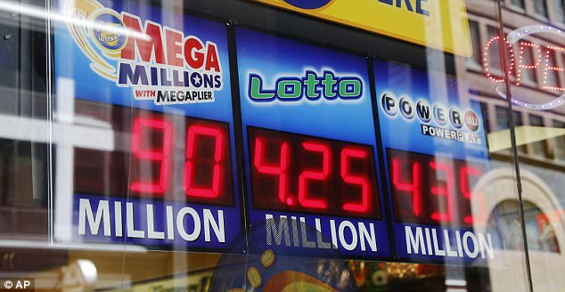 In the seven years since all U.S. lotteries began selling both Powerball and Mega Millions tickets, both games have never offered prizes so large at the same time (stock image)