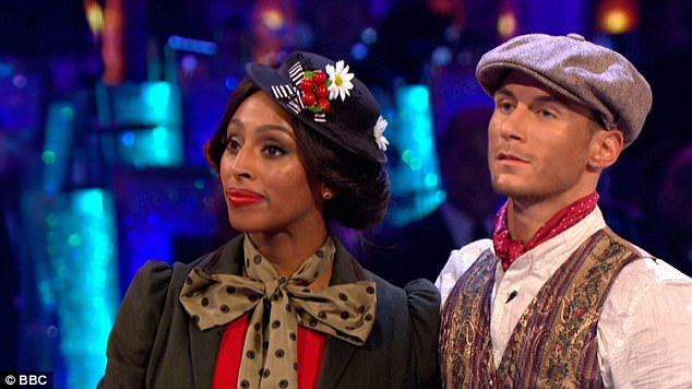 Recent reports claim that Alexandra Burke is secretly furious with her dance partner Gorka Marquez over claims he is dating co-star and fellow competitor Gemma Atkinson- fearing it could affect her chances of winning