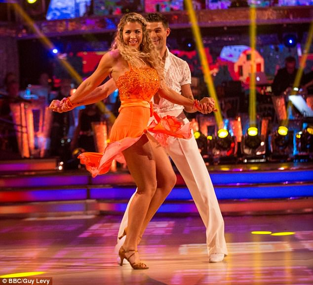 Shimmy:Gemma will return to Strictly next week with partner Alijaz for a Movie Special
