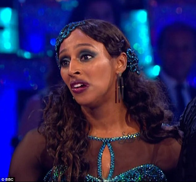 Fuming:Alexandra Burke was said to be 'furious' by the reports her Strictly Come Dancing partnerGorka Marquez is 'secretly dating'Gemma Atkinson