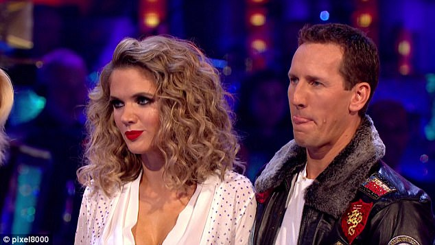 Supporting Charlotte: Brendan Cole caused tension on Strictly Come Dancing on Saturday when he disputed head judge Shirley Ballas' comments toward his dance