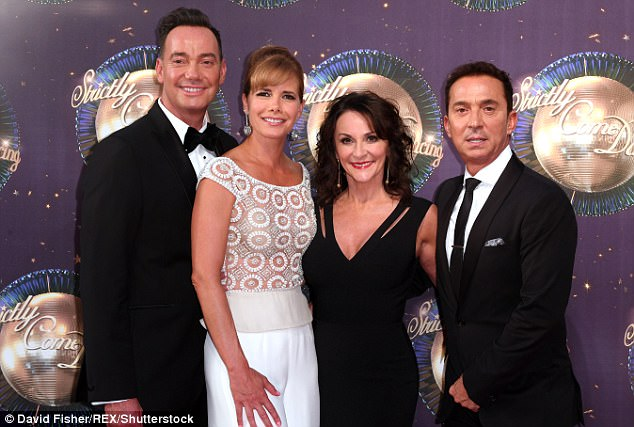 Judging panel:  Craig Revel Horwood, Darcey Bussell, Shirley Ballas and Bruno Tonioli
