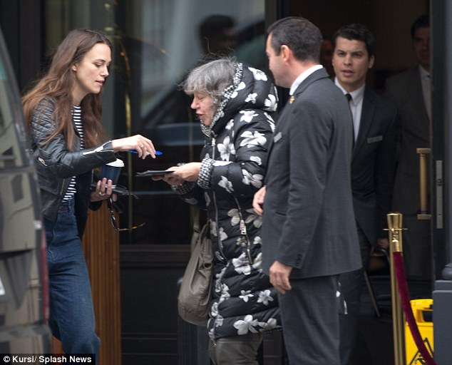 Multi-tasking:The British beauty combines her acclaimed career with motherhood to daughter Edie, now two, who she welcomed with Klaxons frontman James Righton in May 2015