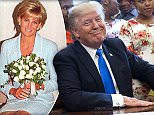 Donald Trump revealed he would have slept with Princess Diana'without hesitation' if he'd had the chance