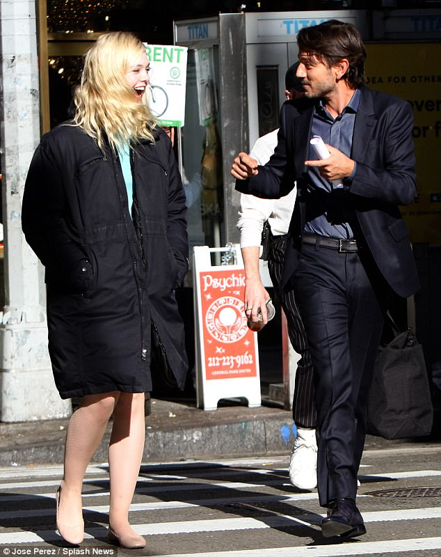 Elle oh Elle: The actress was soon back to laughing as she chatted with the Mexican star