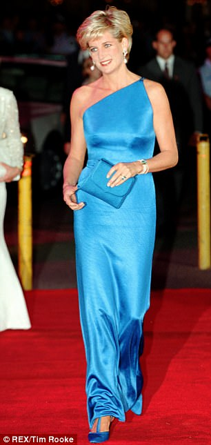 Princess Diana (pictured) was killed in a car crash in Paris in August 1997