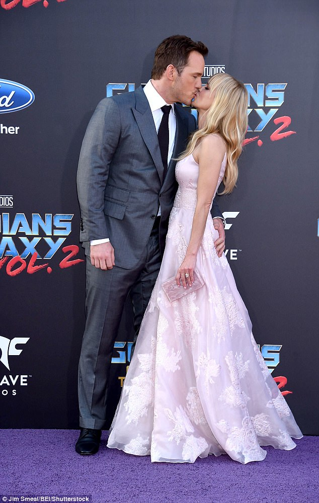 It's over: Chris and Anna reportedly split due to the actor's hectic work schedule