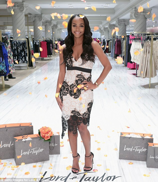 If you've got it! The reality star rocked a pretty lace floral print dress