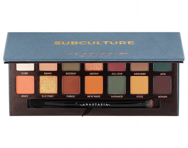 Shop Anastasia Beverly Hills' edgy new palette: Anastasia Beverly Hills Subculture Eye Shadow Palette ($42, sephora.com)