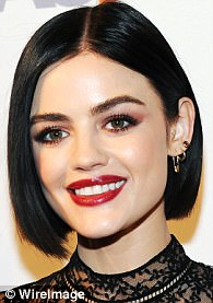 Think you can't wear orange on your eyes? LetChloe Grace Moretz, 20, Zendaya, 20, and Lucy Hale (pictured), 28, convince you otherwise. All three have made it work in the past few months