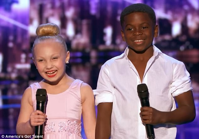 The time of their lives! Paige, eight, and Artyon, nine, wowed the judges on America's Got Talent with their sensational Dirty Dancing-inspired moves