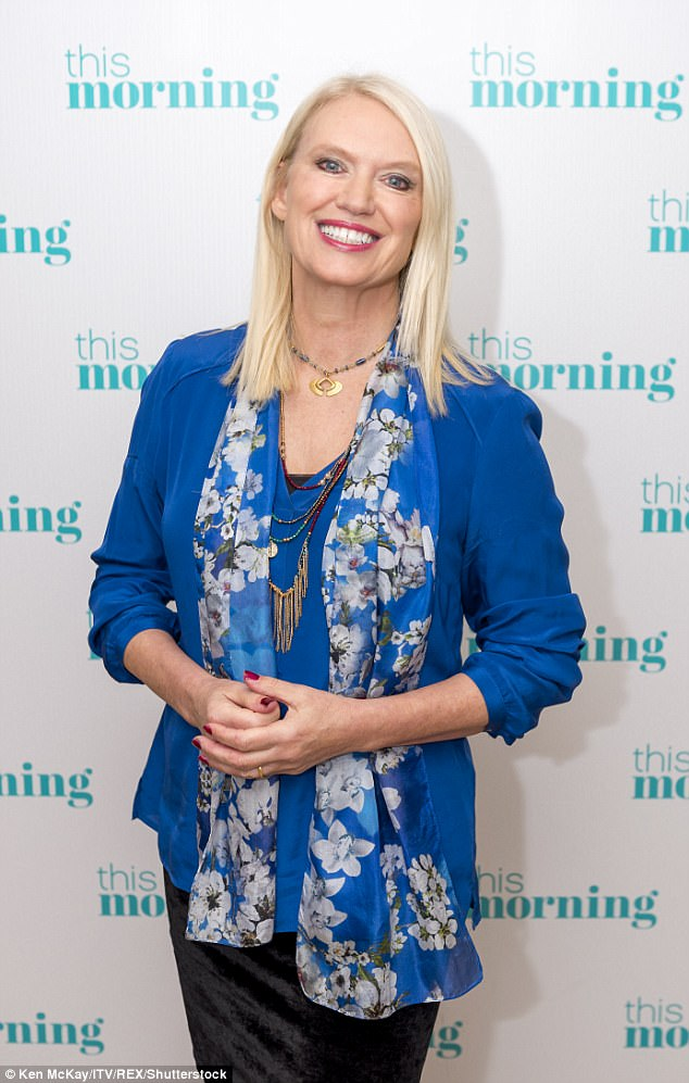 Veteran host:Previously Anneka was most famous for her TV role as a skyrunner on Channel 4's BAFTA-nominated Treasure Hunt, between 1982 and 1988. Pictured in 2016