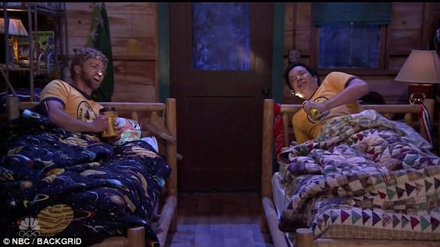 All that ends well:While there was some tension with the camp counselor, JT and Fallon both vow to remain best friends forever