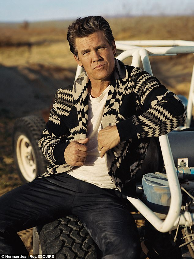 Making friends and enemies! Josh Brolin opened up about his long career in Hollywood and revealed a feud between himself and director James Cameron in the latest issue of Esquire