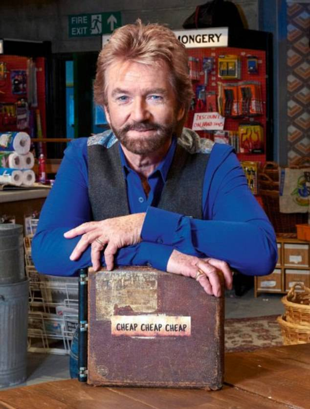 Inspirational: Mark followed in the footsteps of Noel Edmonds - who has also championed the New Thought philosophy and been vocal about its benefits