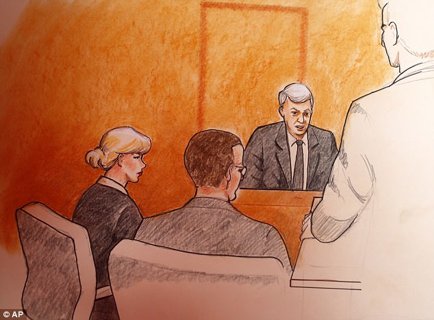 Taylor Swift did not make eye contact with Mueller as he testified in court on Tuesday