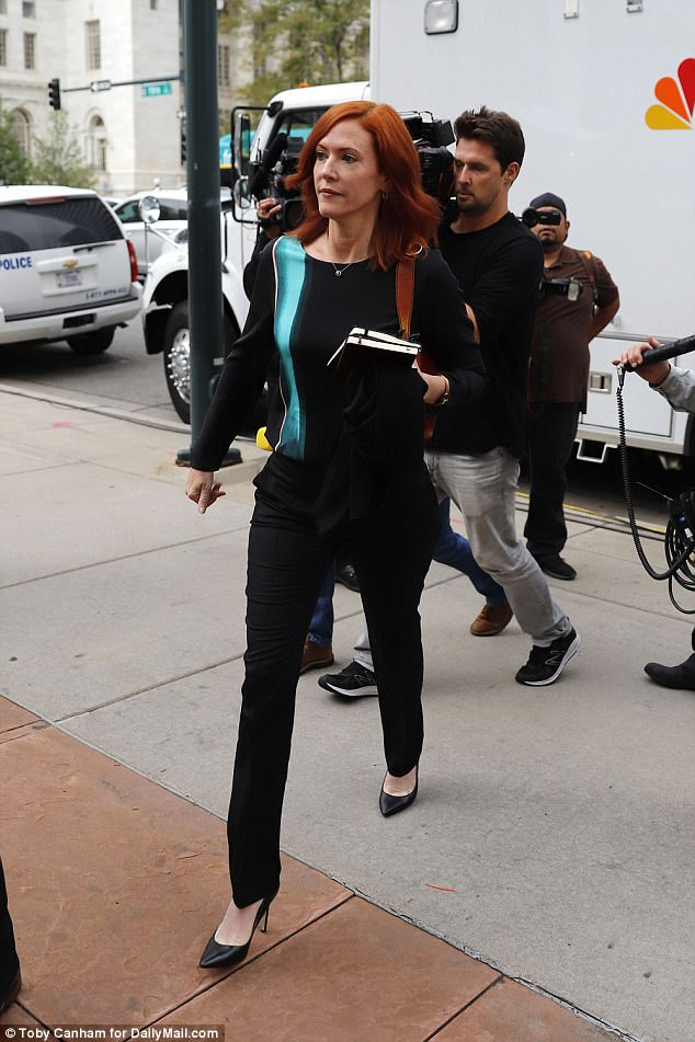 Tree Paine was followed by cameras as she entered the courthouse. Some fans waited outside beginning at 5am Tuesday morning
