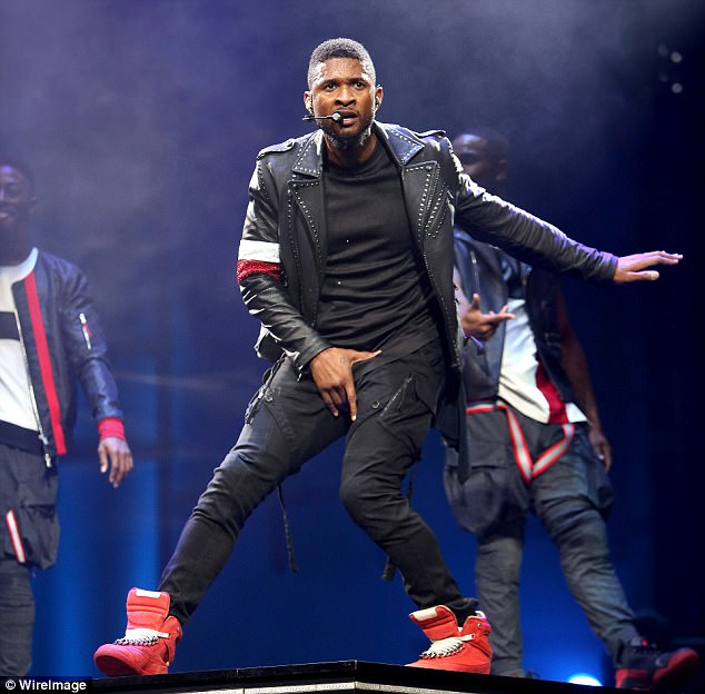 But Usher has now told friends that while he may have pulled Sharpton up on stage during a concert, he says he never had sex with the woman