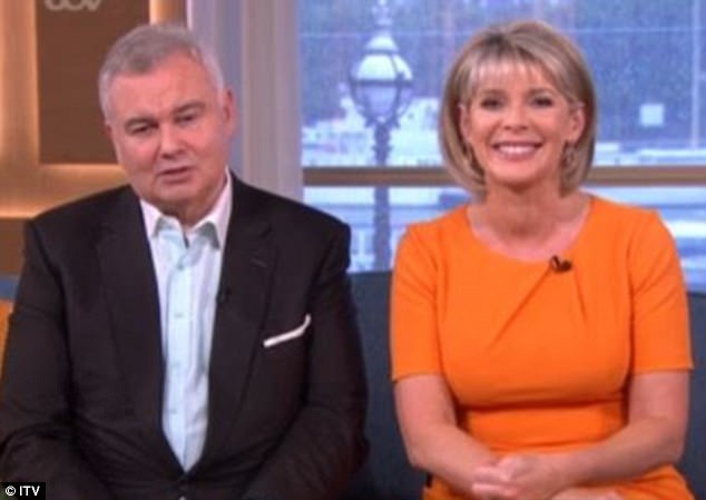 Eamonn Holmes, 57, has put himself forward for Strictly Come Dancing after his hip surgery