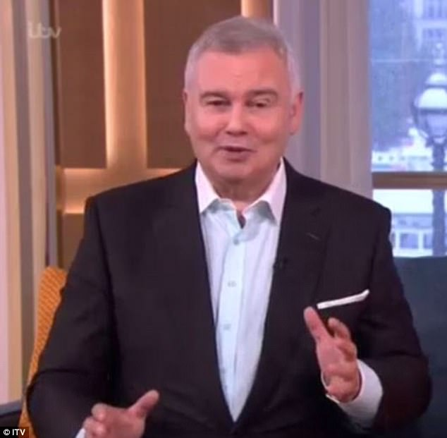 Eamonn began gyrating on This Morning to prove that he was ready to hit the Strictly ballroom