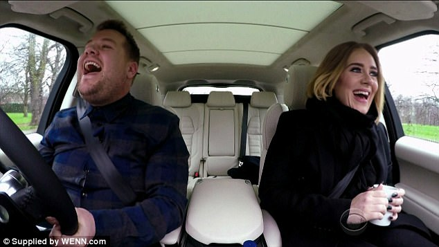 Well-loved show: Carpool Karaoke launched in 2015 and has seen a number of stars drive around with James Corden for his Late Late Show sketch