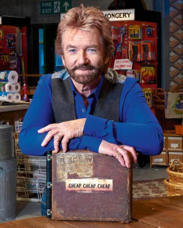 New ventures:Noel will next be seen on the small screen in new shopping gameshow Cheap Cheap Cheap