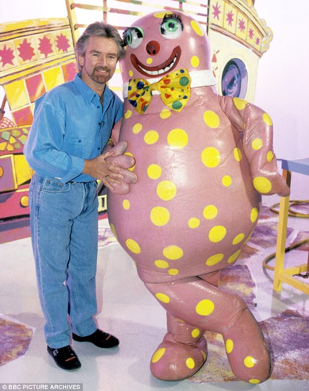 Telly favourite: The star was a TV hit in Noel's House Party where he was joined by No1 music artist Mr Blobby