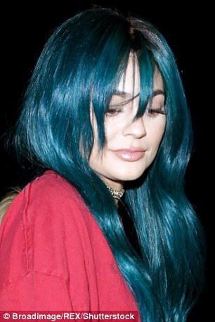 Statement locks: The 20-year-old is known for switching up her hairdo with a variety of colorful wigs