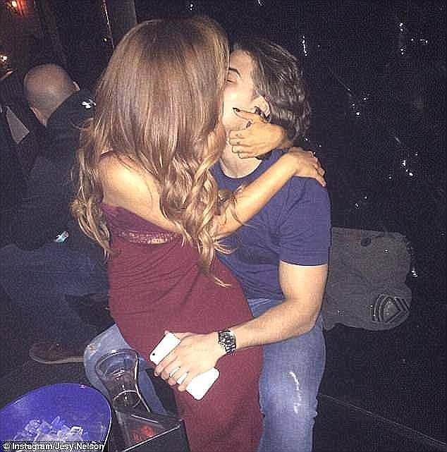 Split:Chris also had a fleeting romance with Little Mix's Jesy Nelson but things were not to be