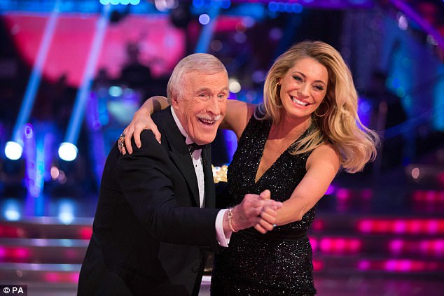 Sir Bruce, the frontman of Strictly Come Dancing since it launched but announced he was leaving in April 2014