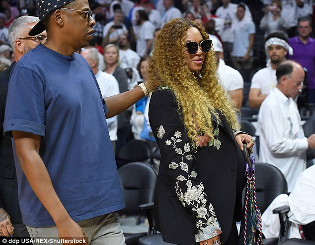 New parents again:The couple welcomed their twins Rumi and Sir Carter in June, while Beyonce gave birth to daughter Blue Ivy Carter back in 2012