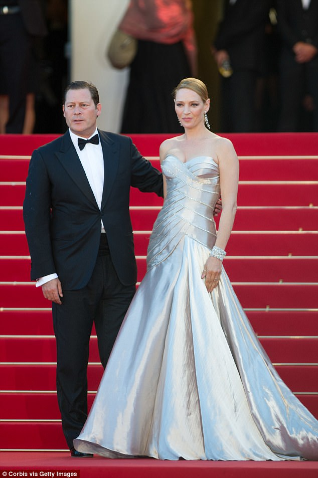 Had a daughter together:Arpad dated actress Uma Thurman from 2007 to 2014