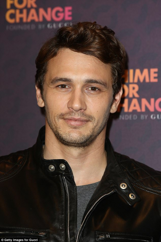 Switching roles: Maggie's co-star James Franco jumped behind the camera on The Deuce and has praised Maggie's professionalism while filming sex scenes