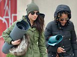 Meghan Markle, 35, was spotted leaving a yoga class with mother Doria, 60, in Toronto