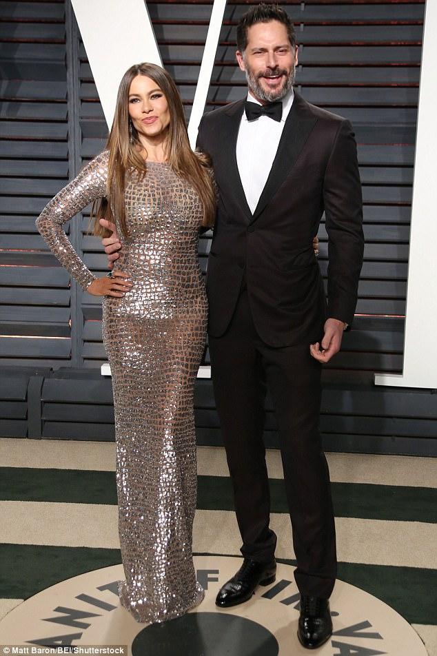 Glowing goddess:Sofia has been married to hunky actor Joe Manganiello, 40, since November 2015