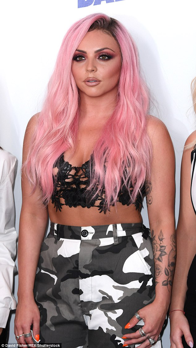Heartbreak: Jesy has experienced her own fair share of heartbreak as of late after she split from TOWIE's Chris Clark a few months ago and called off her engagement to Rixton's Jake Roche last year