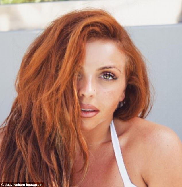 Envy-inducing: Jesy looked blissfully happy this week as she stripped down to a white hot bikini during her latest sunshine break