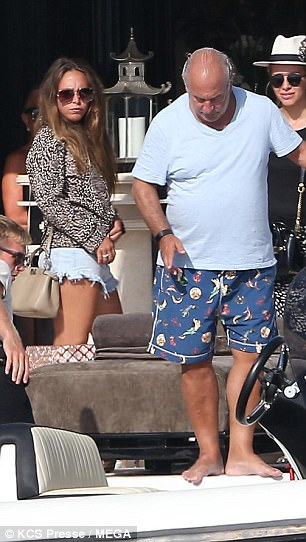 Controversial: The British retail tycoon, who owns Topshop and is worth an estimated $5.1 billion, has been hitting headlines frequently after BHS had gone bust