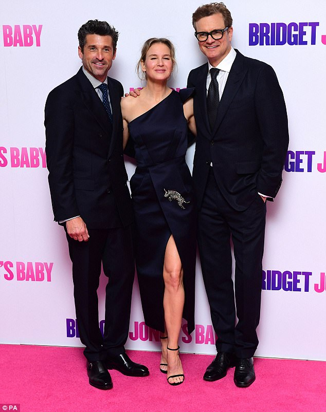 They're back! The mastermind behind the Bridget Jones' series has amassed huge success for her film adaptation for the third installment which starred Colin Firth, Patrick Dempsey and Renee Zellweger, who returned as the nation's favourite hapless heroine after 12 years