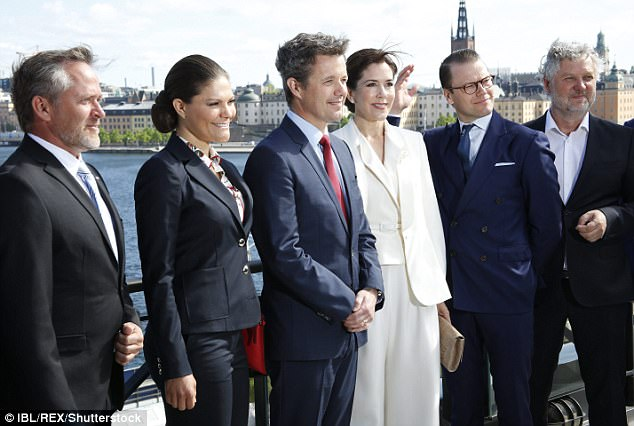 The royal couples are thought to be close with Frederik acting as godfather to Victoria and Daniel's youngest child Prince Oscar