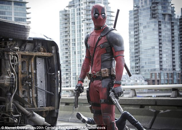 Superhero: He plays the title character in the  film Deadpool