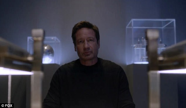 Mulder and Scully this season after being strictly business on Season 10, Chris answered 'They get kissin¿ close'